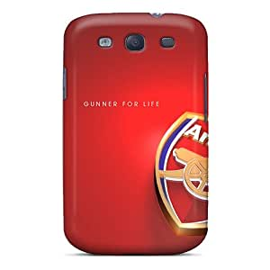 Awesome Case Cover/galaxy S3 Defender Case Cover(arsenal Logo)