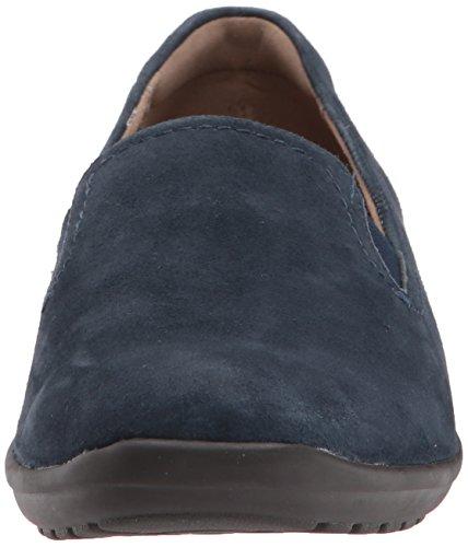 Loafers Blue Frauen Dark Easy Spirit Blue Suede Dark q4IEA