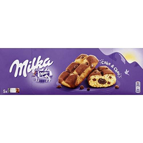 Milka , Gâteau Moelleux Aux Pépites De Chocolat Au Lait Du