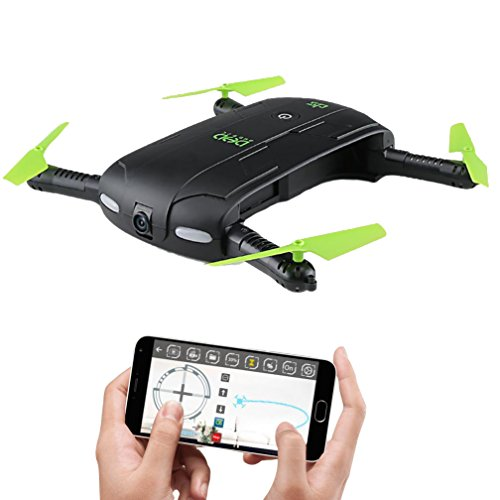 JJRC DHD D5 Foldable WiFi FPV Drone with 30W Camera Altitude Hold Phone Control Quadcopter