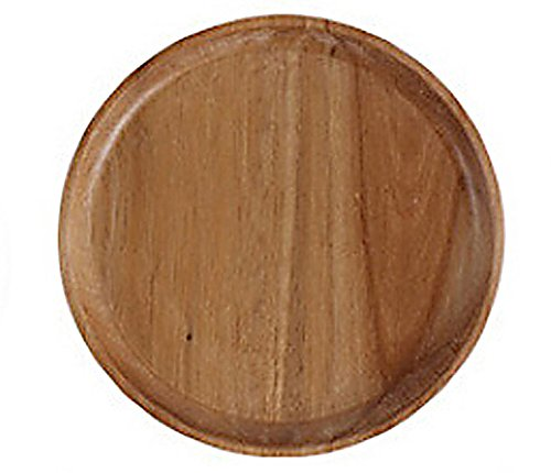 Big Lebowski Rollers New - mk. park - Nature Round Wooden Plate Breakfast Snake Dishes Tray Platter Plate New
