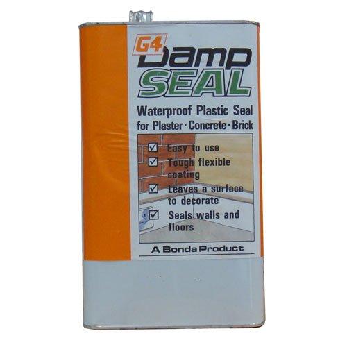 Bonda G4 Damp Seal - Plaster / Concrete / Brick - Waterproof Seal - 5kg Bonda ( MB Fibreglass )