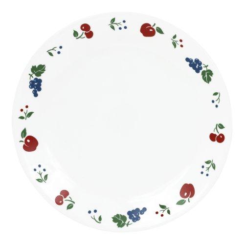 Corelle Livingware 10-1/4-Inch Dinner Plate, Berries and Cherries