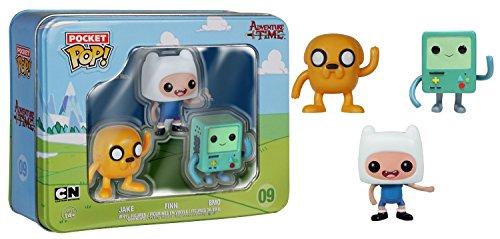 Adventure Time Tin  Jake  Finn  Bmo 3 Pack
