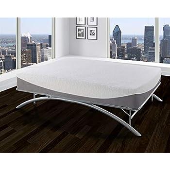 Amazon Com Boyd Sleep Arched Platform Bed Frame Metal