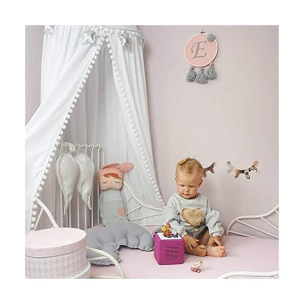 ZXYSR Baldacchino per Bambini, in Chiffon, Zanzariera, per Interni Ed Esterni, Baldacchino per Camera di Lettura… 3 spesavip