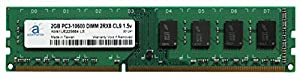 Adamanta 2GB (1x2GB) Memory Upgrade Asus RS300-E7/PS4 Server DDR3 1333MHz PC3-10600 UDIMM 2Rx8 CL9 1.5v DRAM