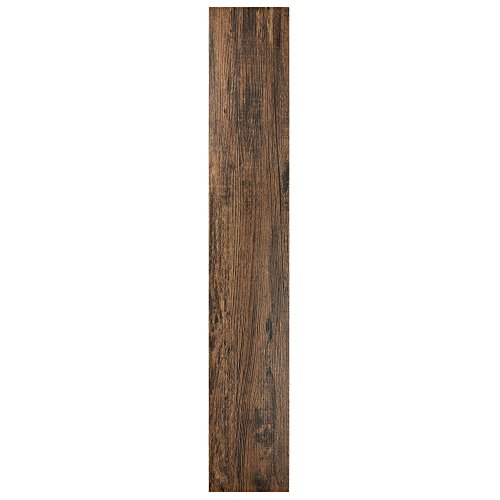 Walnut Laminate Flooring - Achim Home Furnishings VFP2.0MH10 Tivoli II Peel 'N' Stick Vinyl Floor Planks (10 Pack), Mahogany, 6