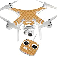 MightySkins Protective Vinyl Skin Decal for DJI Phantom 3 Standard Quadcopter Drone wrap cover sticker skins Waffle Sole