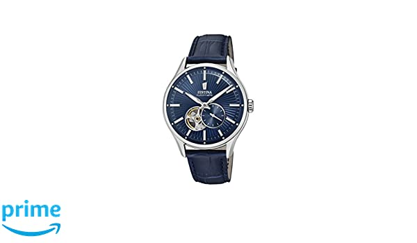 Amazon.com: Festina F16975/2 F16975/2 Mens Wristwatch Classic & Simple: Watches