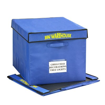 Bin Warehouse DFAE32FT4P Fold-A-Tote, 32-Gallon Size (Pack of 4)