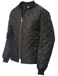 Work King Men's Freezer Jacket Outerwear, Black, S