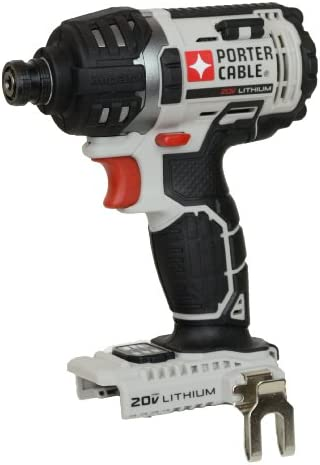 Porter Cable PCC640 20V Max Lithium Ion 1 4 Hex Impact Driver Bare Tool – No Battery, Charger or Case