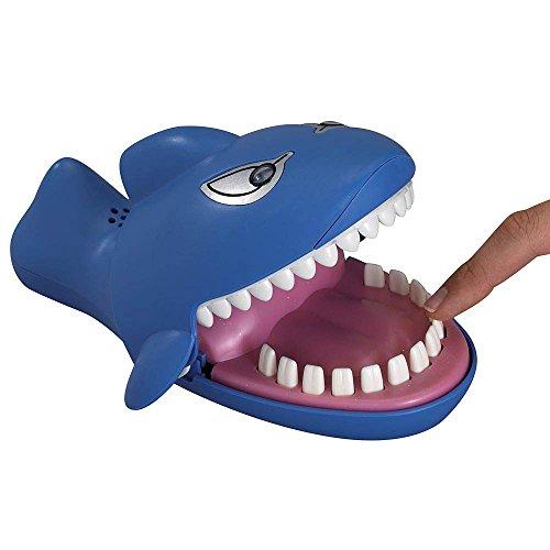 Shark Dentist Evil Eye Laugh Snappy Biting Hand Game for Kids Shark Bite family fun game - More fun than Dinosaur, Crocodile or Bulldog