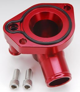 CSR Performance Products 9111R Red Swivel Thermostat Housing for Small Block Ford by CSR Performance Products (Image #1)