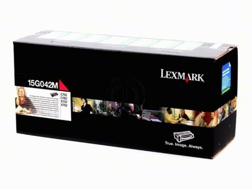 (Lexmark 15G042M C752 C762 X752 X762 High Yield Magenta Return Program Toner Cartridge (15000 Yield))