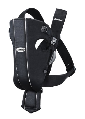 (BABYBJORN Baby Carrier Original - Black, Cotton )