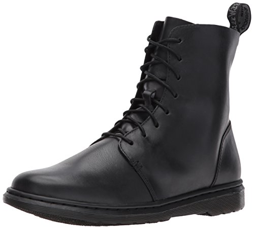 Dr. Martens Women's Danica Ankle Boot, Black, 7 Medium UK (9 (Loop Leather Ankle Boots)