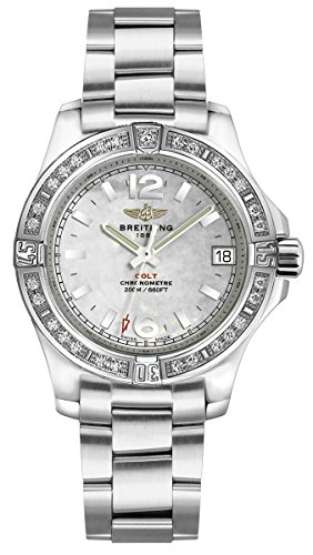 Breitling Colt Lady Diamond Women's Watch A7738853/A770-158A