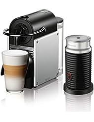 Nespresso by De'Longhi EN124SAE EN125SAE Original Espresso Machine Bundle with Aeroccino Milk Frother by De'Longhi, 2.3, Aluminum