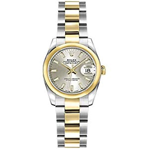 Best Epic Trends 41otCdrkeQL._SS300_ Rolex Lady-Datejust 26 Silver Dial Gold and Steel Luxury Women's Watch 179163
