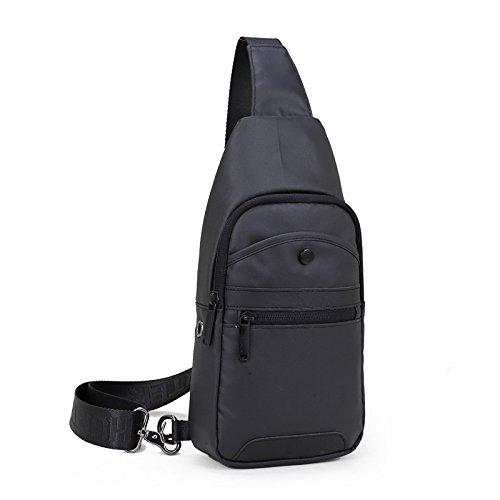 Nuevo verano de los hombres 2018 nueva mochila USB resistente al agua con puerto para auriculares, almacenamiento muy fuerte,...
