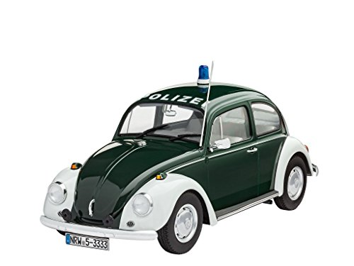 Revell of Germany VW Beetle Police Building Kit ()