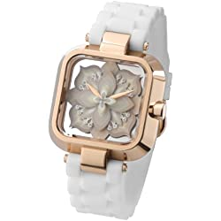 "ZERONE Crossover Sasu ""UNTITLED"" White Rose Gold Analogue Watch"