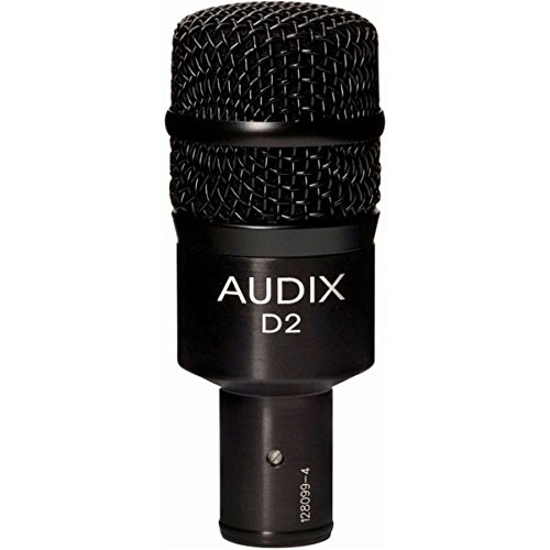 Audix D2 Dynamic Microphone, Hyper-Cardioid by Audix