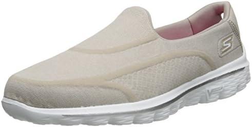 Skechers Go Walk 2 Super Sock 2 Taupe Slip On Shoes