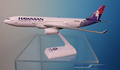 Flight Miniatures Hawaiian Airlines Airbus A330 200 1 200 Scale Reg N380ha