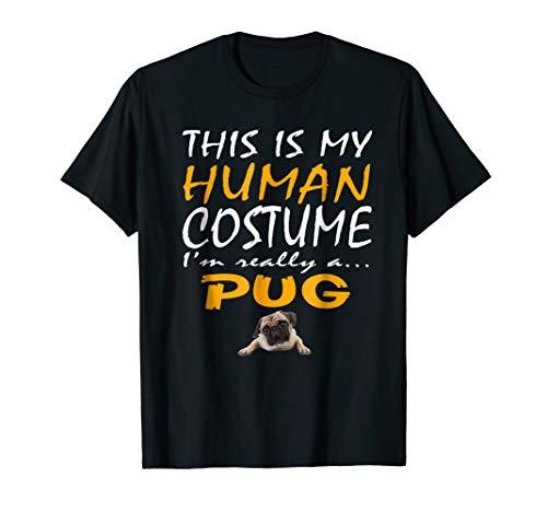 Pug | This Is My Human Costume Pug Dog Halloween -