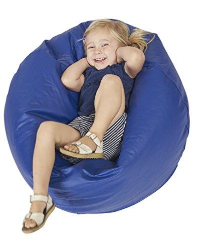 ECR4Kids Junior Classic Bean Bag Chair, Blue (26')