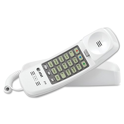 (At&T Corded Telephone White)