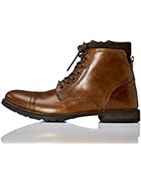 Amazon Brand - find. Men's Zip Classic Worker Boots Ankle