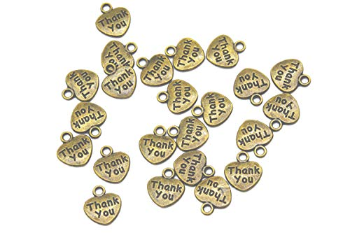Youkwer 100Pcs 12x11mm Mini Love Heart