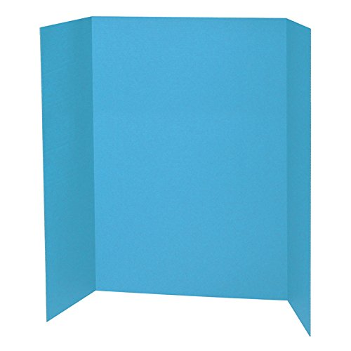 Pacon PAC3771BN Sky Blue Presentation Board, 48'' X 36'', MultiPk 6 Each by Pacon