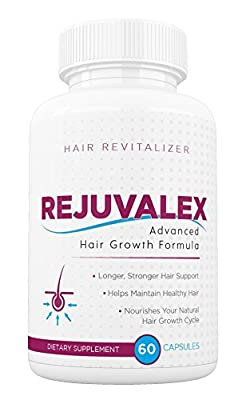 Rejuvalex Advanced Hair Growth Formula, Hair Loss Help! Revitalizer!Original
