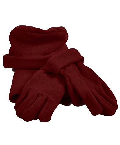 Burgundy Solid Polyester...