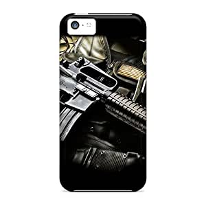 Slim Fit Tpu Protector Shock Absorbent Bumper M4 And Gear Case For Iphone 5c