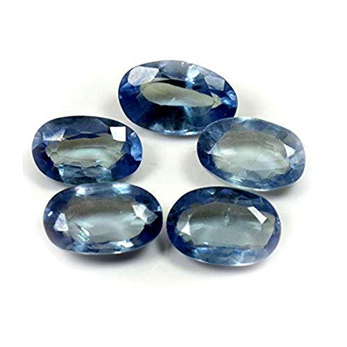 Jewelryonclick Alexandrite Loose Stone Total 30 Carat Lot 5 Pcs Jewelry Making Oval Shape Wholesale Price