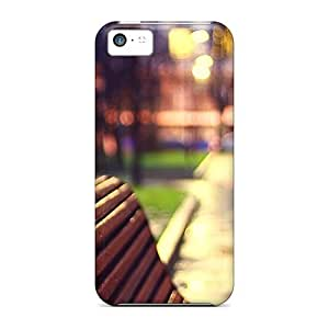 Case Cover Danbo On The Bench/ Fashionable Case For iPhone 6 plus 5.5