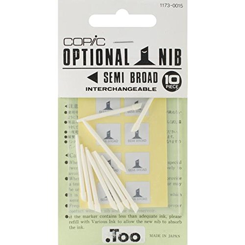 Copic Markers Semi Broad Nib