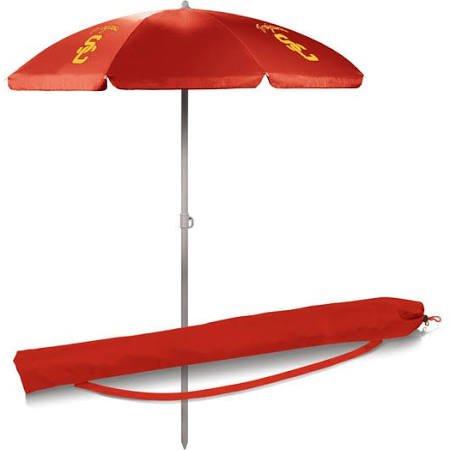 NCAA USC Trojans Portable Sunshade Umbrella, - Usc Umbrella Trojans