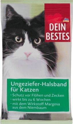 Tu mejor accesorios para gatos, parásitos de cuello de banda, 1 St Biocida del