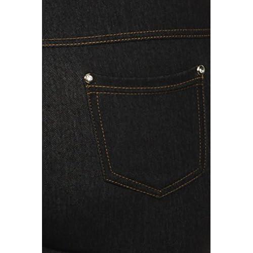 e4f21b60fa2 Simplicity Women s Plus Size Ultra Stretch Jeggings Leggings w  Pockets chic