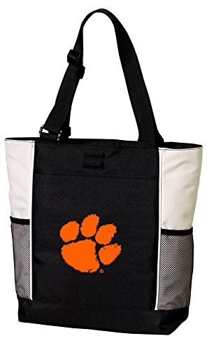 Broad Bay Clemson Tigers Tote Bags Clemson University Totes Beach Pool Or Travel by Broad Bay
