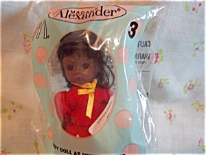 Madame Alexander Doll - Wendy Doll as Minnie Mouse (African American) - McDonald