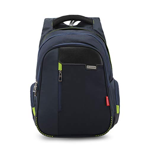 Harissons Bags Sirius Office Laptop Backpacks for Men and Women with USB Charging Port and Waterproof Rain Cover (Navy Blue, 45 Ltrs)