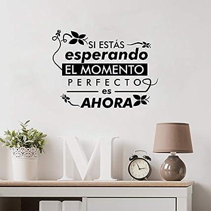Vita spagnola Quote Rimovibile Vinile Wall Sticker Home ...